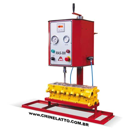 AUTOMATIC CYLINDER HEAD VALVE SEAT BORING MACHINE