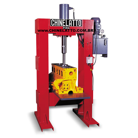 CYLINDER SLEEVE HYDRAULIC PRESS - MOD. P-30